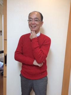 真っ赤なセーター